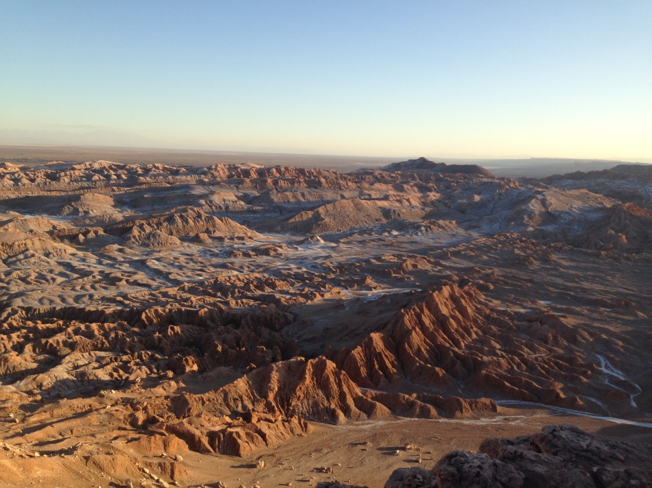 Moon Valley Atacama Desert Chile